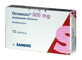 OSPAMOX 500 MG FC TABLETS