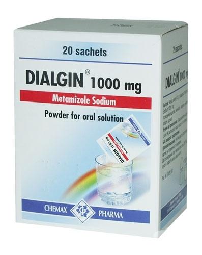 1000 20 Dialgin Powder For Oral