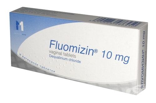 Флуомизин 10мг №6 таблетки вагинальные